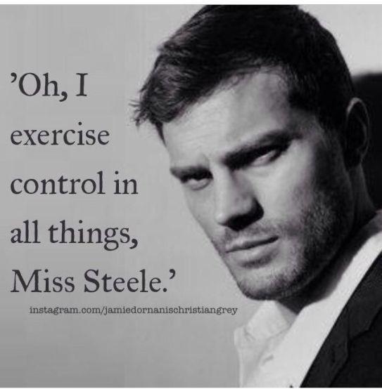 I exercise control
