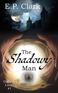 The Shadowy Man Cover Enlarged Image 2