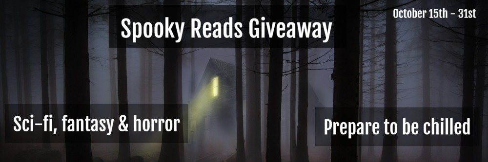 Spooky Reads Giveaway