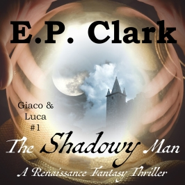 The Shadowy Man Audiobook Cover
